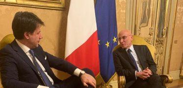 Piero Di Lorenzo E Il Premier Conte