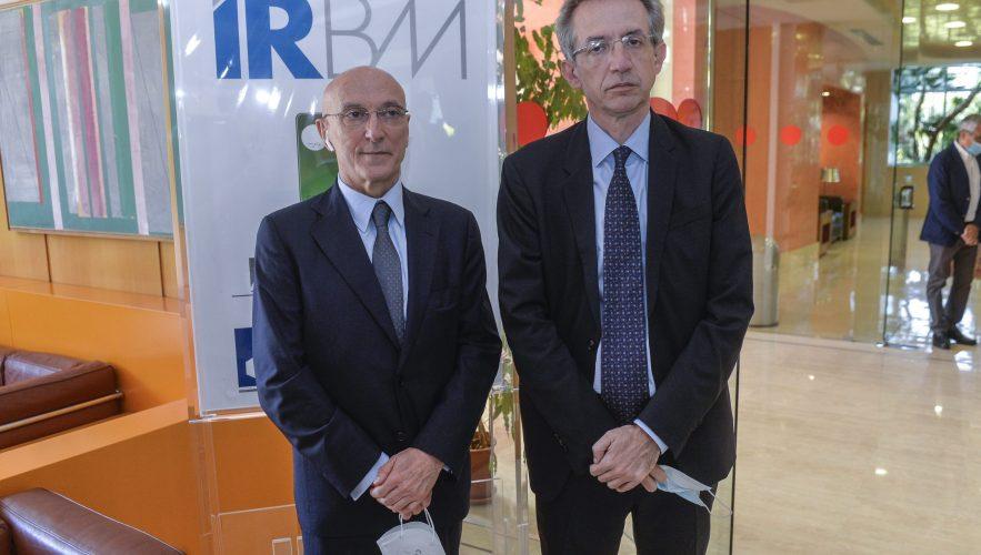 Visita Del Ministro Manfredi Ai Laboratori Dell'IRBM