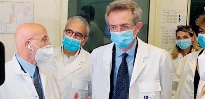 Minister Gaetano Manfredi Visiting IRBM «here The Excellence»